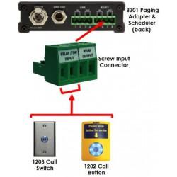 Algo 8301 programmateur sonneries annonces et musique