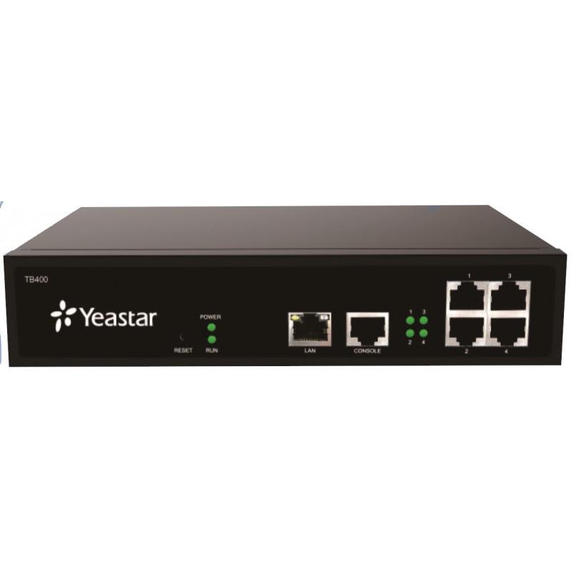 Yeastar gateway SIP/T0 importé par Quintium