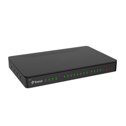N412 IPBX hybride analogique, T0 (en option) et SIP