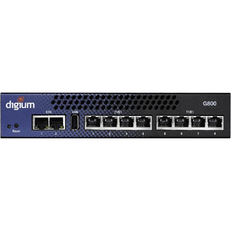 gateway 1G801F SIP vers 8x T1/E1(T2)/PRI EUROISDN Q-sig Digium par Sangoma