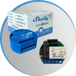 Shelly1 relais WIFI pour Domotique