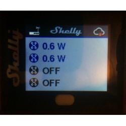 Shelly 4PRO quadruple relais Wi-Fi pour Domotique afficheur indicateur de puissance