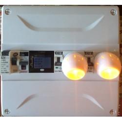 Shelly 4PRO quadruple relais Wi-Fi pour Domotique installation en tableau rail DIN