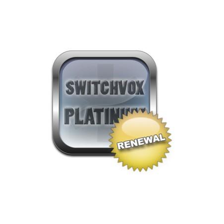 Licence renouvellement renew pour 1 utilisateur niveau support PLATINUM pour Switchvox de Digium par Sangoma
