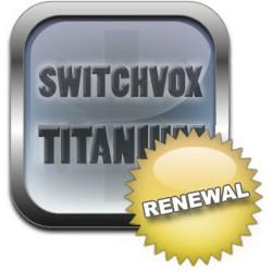 Licence renouvellement renew pour 1 utilisateur niveau support TITANIUM pour Switchvox de Digium par Sangoma