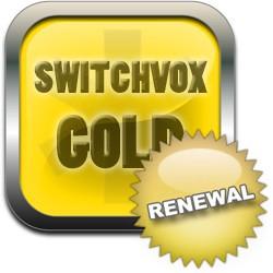 Licence renouvellement renew pour 1 utilisateur niveau support GOLD pour Switchvox de Digium par Sangoma