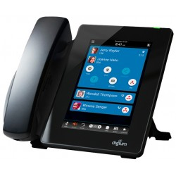 IP Phone SIP D80 1TELD080LF écran couleur tactile Gigabit Digium Sangoma pour Asterisk Open Source et Switchvox