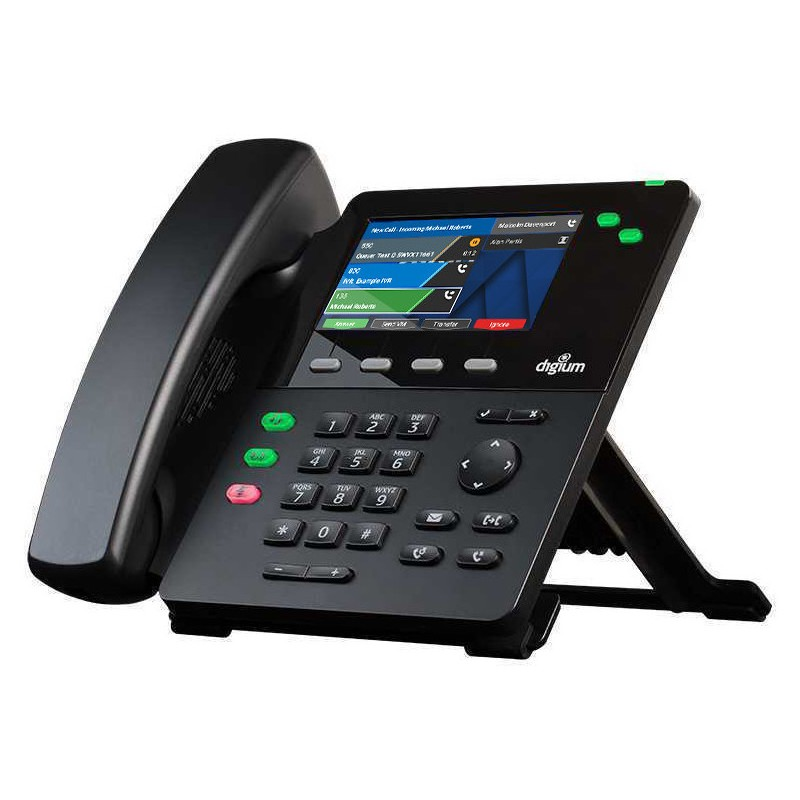 IP Phone SIP D62 1TELD062LF Gigabit Digium Sangoma pour Asterisk Open Source et Switchvox