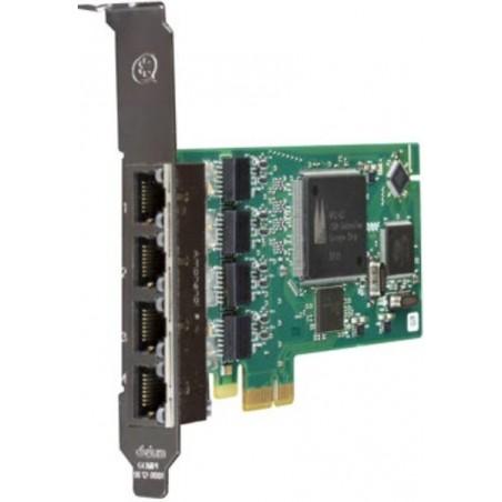 1B433LF carte PCIe 4xT0/S0 BRI Euro ISDN Numeris Digium par Sangoma
