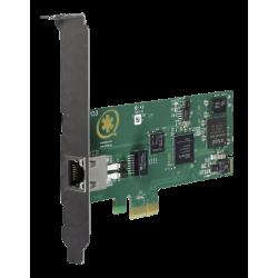 1TE133F carte PCIe 1xE1/T2 PRI EUROISDN Digium Sangoma pour Asterisk Switchvox