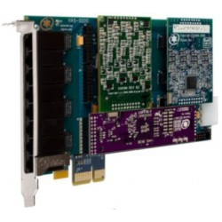 1HB8-0000LF HB8 carte PCIe modulaire Digium Sangoma pour Asterisk Switchvox