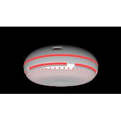 Shelly Smoke en alarme lumineuse  WiFi sensor détecteur de fumée et température pour Domotique Home-Automation MQTT