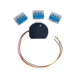 temperature sensor sonde addon adaptateur pour Shelly-1 ou Shelly-1PM sans sonde pour Domotique Home-Automation