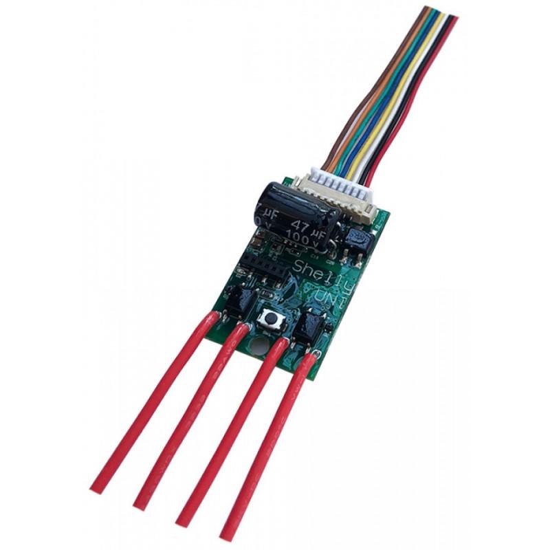 Shelly UNI implant WiFi interface pour Domotique Home-Automation MQTT