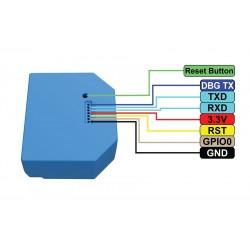 GPIO Shelly1L relais WIFI pour Domotique MQTT home automation