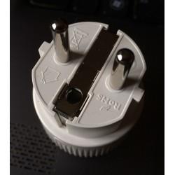 Connecteur male sous plug-s IEC type CEE7/7