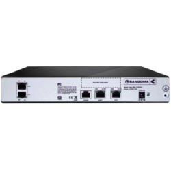 vega 100 200 arriere connecteurs connexions sangoma gateway passerelle SIP E1 T2 T1 QSIG