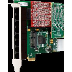 1A8B00F A8B carte PCIe modulaire Digium Sangoma pour Asterisk Switchvox