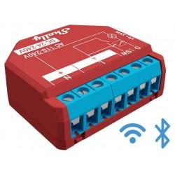 Shelly PLUS 1PM relais Wi-Fi BLUETOOTH détection température interne et mesure de puissance pour domotique home-automation