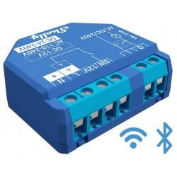 Shelly PLUS 1 relais Wi-Fi BLUETOOTH détection température interne pour domotique home-automation