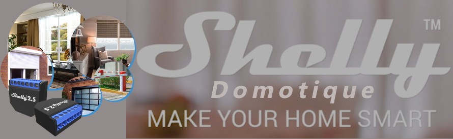 Domotique Shelly Smart Home Home-automation